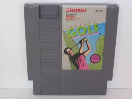 Bandai Golf: Challenge Pebble Beach - NES Game